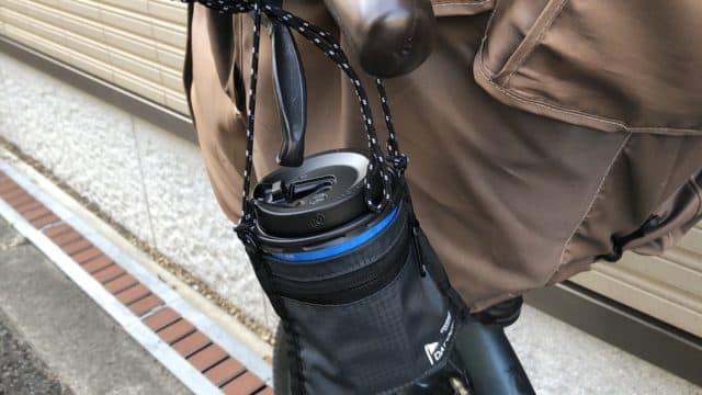 コンビニコーヒー 持ち運び 袋 自転車