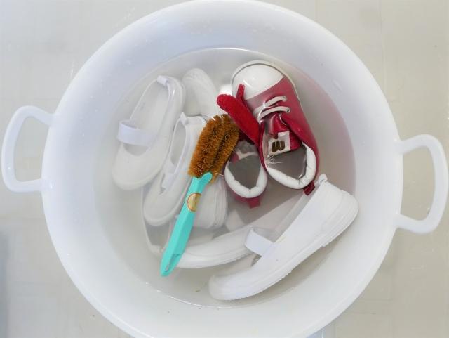 幼稚園準備 上靴