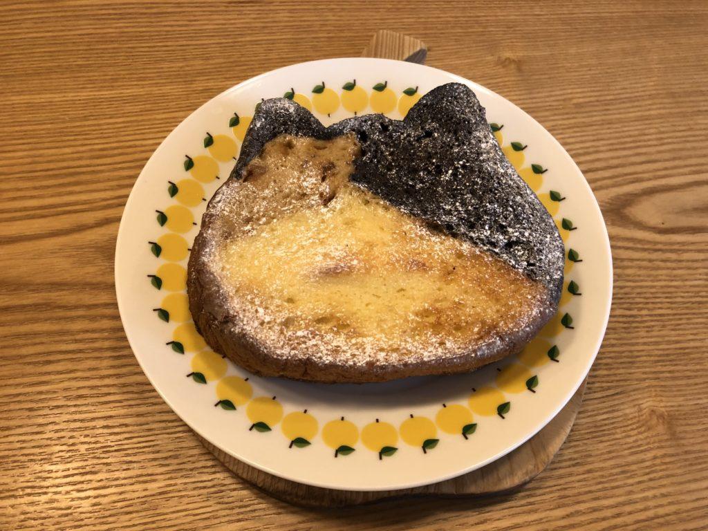 ねこねこフレンチトースト