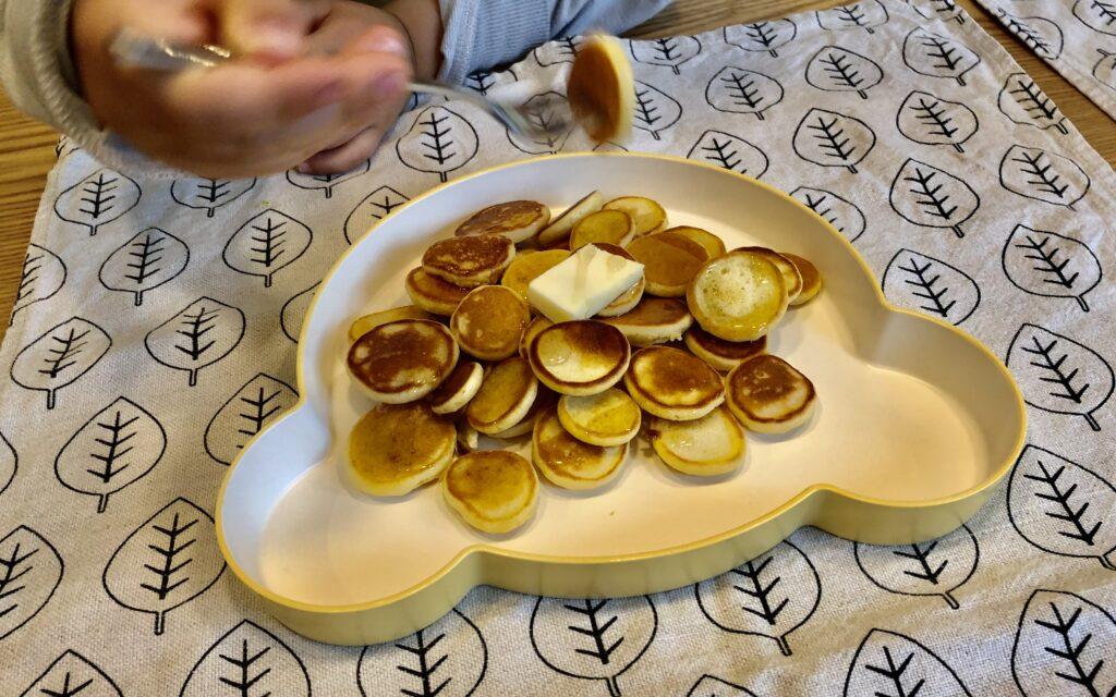 シリアルパンケーキ 子供 アレンジ 簡単おやつ